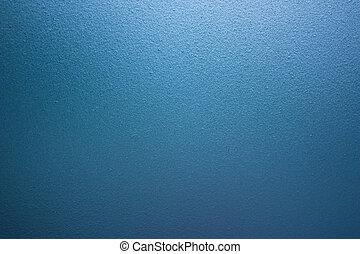mur bleu, verre dépoli, fond, rugueux