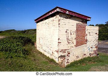 mur, bloc, graffiti, ablution, commencements
