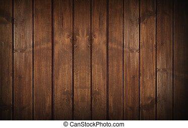 mur, bois, fond