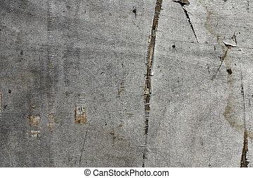 mur, bois, vieux