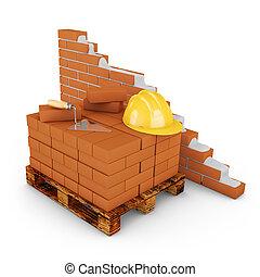 mur, brique