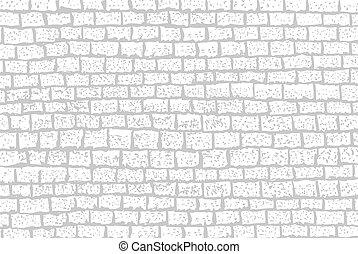 mur, brique, -, fond