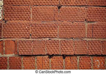 Photo De Stock Mur Brique Rouges Grand Inscriptions Mur Mod Le Csp9553404