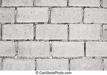 mur, brique, texture, fond
