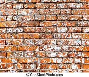 mur, brique, texture