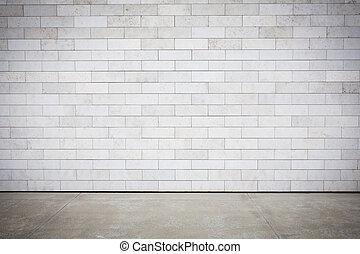 mur, carrelé