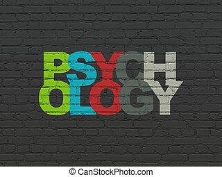 mur, concept:, psychologie, fond, healthcare