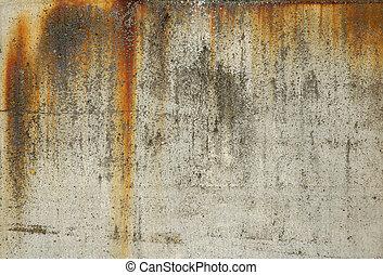 mur, conrete, grunge, texture, voile de surface