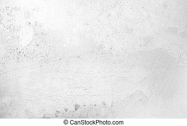 mur, cru, fond, béton