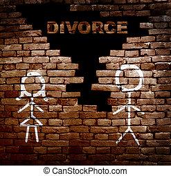 mur, divorce, couple