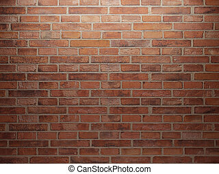 mur, ensemble, une