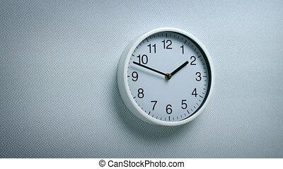mur, environnement, dépassement, générique, horloge