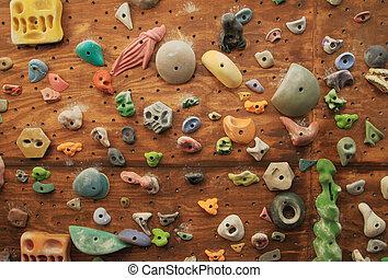 mur, escalade