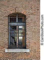 mur, fenêtre