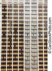 mur, fenetres, balcons
