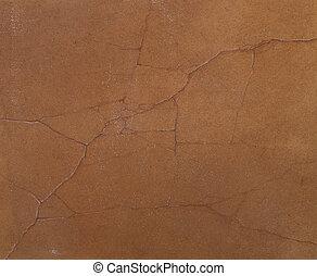 mur, fissures, texture