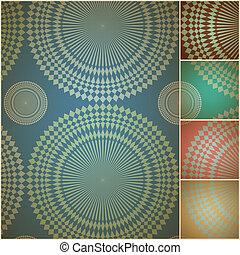 mur, géométrique, papier, seamless, fond