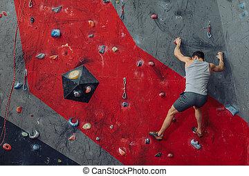mur grimpeur, exiger, lotissements, energy.