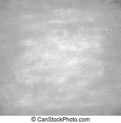 mur, gris, béton