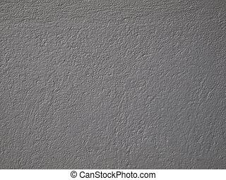 mur, gris, ciment