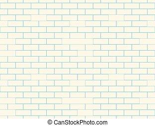 mur, modèle, brique, seamless