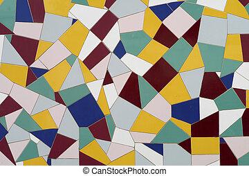 mur, mosaïque