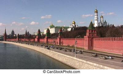 mur, moscou, kremlin