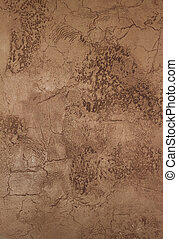 mur peint, faux, stuc, textured