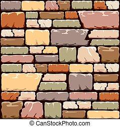 mur, pierre, coloré, fond