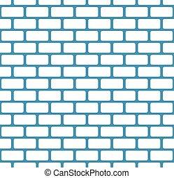 mur pierre, modèle, mur, seamless, vecteur, brique