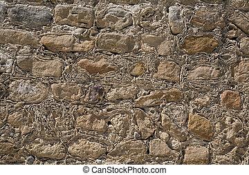 mur pierre, texture, ancien