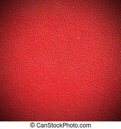 mur, plâtré, rouges
