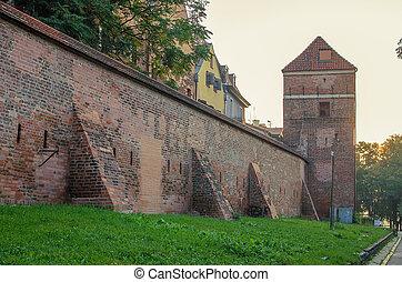 mur, poland), (torun, défensif