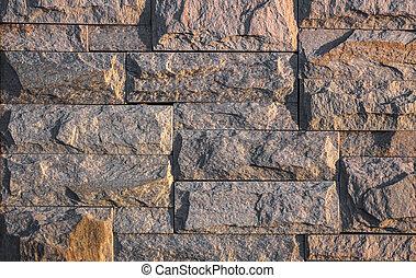 mur, revêtement, pierre, tuiles, texture