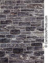 mur, sten, gamle, tekstur