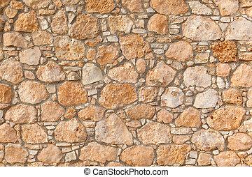 mur, texture, ancien