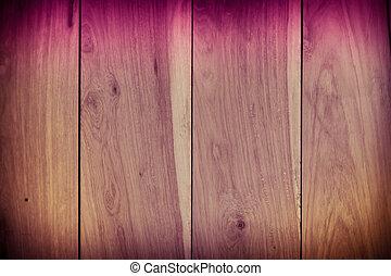 mur, texture bois, fond