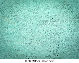 mur, vert, ciment, fond