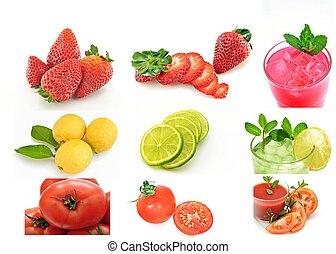 Mural of fruits