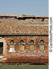 Murano island, Venice lagoon - abandoned glassworks