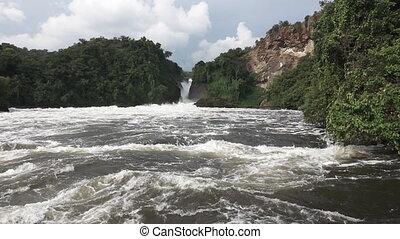 Murchison Falls in super slow motion