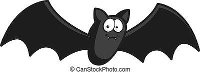 murciélago, caricatura