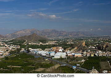 Murcia Countryside - A landscape view of the Murcia...