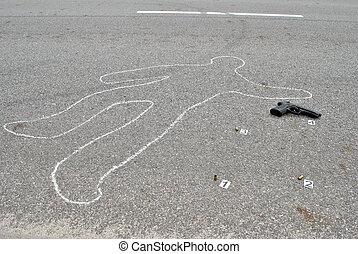 Murder in the street