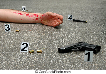 Murder - place of shooting