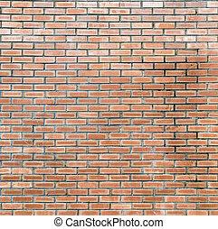 muro di mattoni, fondo