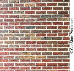 muro mattone rosso, fondo