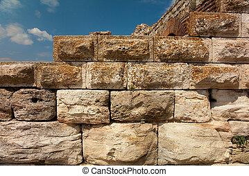 muro pietra, antico