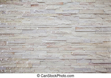 muro pietra, moderno, struttura, affiorato, mattone bianco