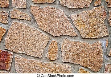 muro pietra, su, fondo, chiudere, struttura